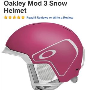 New OAKLEY MOD 3 Snow helmet small snowboard ski